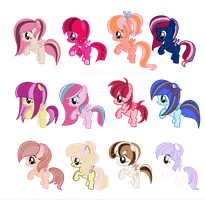 Filly adopts  CLOSED by SugarMoonPonyArtist