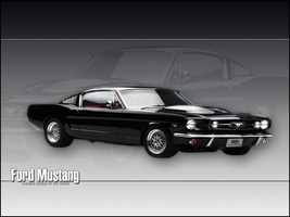 Classic Mustang by amazinglyunloved