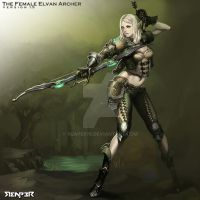 The Femal Elven Archer ver.1.5 by reaper78