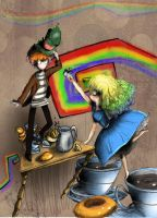 Mad tea party by WinnieJoe