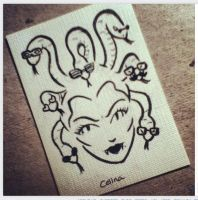 Medusa Goes Shopping by ChibiCelina