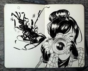 #261 Take Pictures by 365-DaysOfDoodles