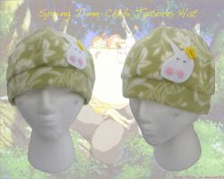 Spring Time Chibi Totoro Hat by Demi-Plum