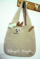 Cat Bag by D-Ladybug