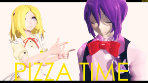 [MMD VIDEO]Pizza Time[MOTION DL] by OLOKL