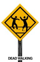 Street SIGN: Zombie Zone by Petrus-Emm