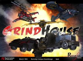 Grindhouse Poster 2 by Donomon