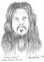 Portarit of Dimebag by sicMoP
