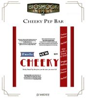 Cheeky Brand Pep Bar Label by Whatpayne
