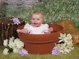 Plant pot baby by gopherboy76