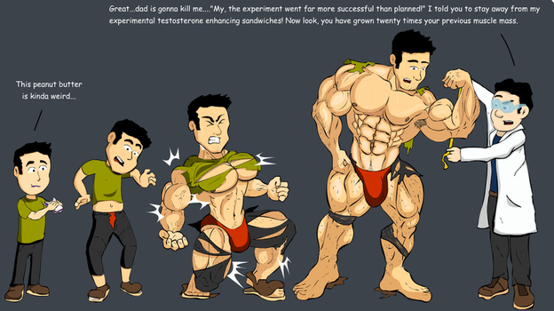 Muscle growth sandwich by Salvador503