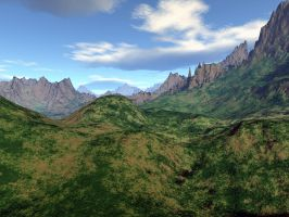 Sandy Peaks - EasyNow-3D by backgrounds