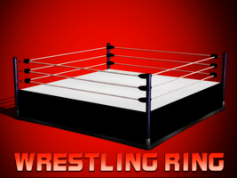 Wrestling Ring (by wakind) by IKeelYou457