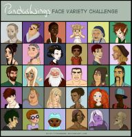 Facevariety Challenge by PandasWings