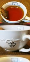 Ceiling Robot Teacup by angermuffin