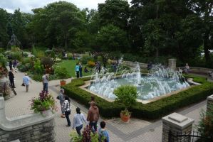 Casa Loma fountain 1 by JacketBird