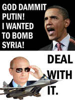 Deal with it Obama by Party9999999