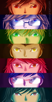 Let's Player Persona Eyes by garche4291