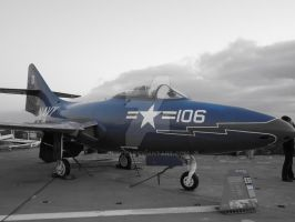 Tour in USS Midway - Blue Toy by eskici