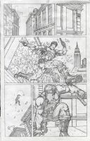Grifter Sample Page1 by MannixFrancisco