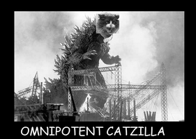 Catzilla by Mnemothra