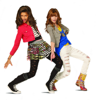 Bella and Zendaya (Rocky and Cece) PNG 3 by xCupcakeGlitter