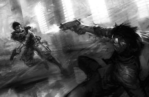 shootout by michalivan