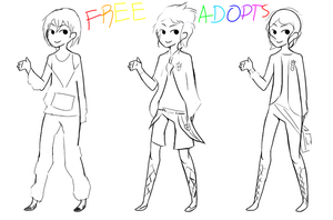 Free Male Adopts  (Closed) by AFX777