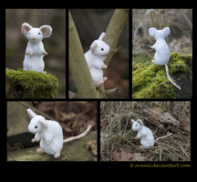 Plushie: Pippin the Mouse by Avanii