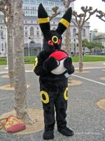 Umbreon in the City 1 by Stormfalcon