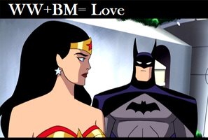 Wonder Woman And Batman by BreyerCollector