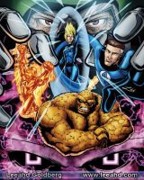 Fantastic Four anniversary by Leeahd