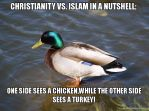 Christianity-vs-islam by InfraDalek