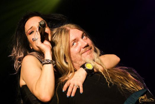 Nightwish X - Anette and Marco by onkami