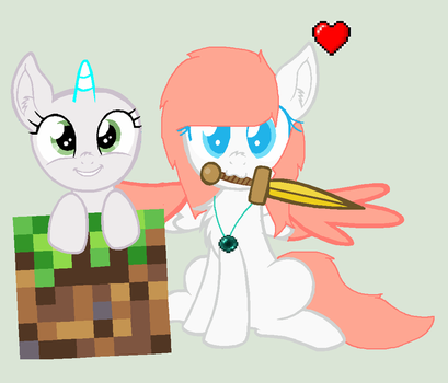 Mlp minecraft Lover's (open collab) by The-Crazy-Canadian