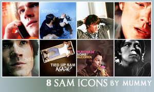 8 Sam icons :1: by mummy16