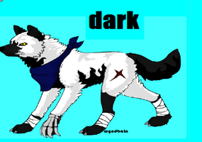 darkness the wolf by wolvesforever122