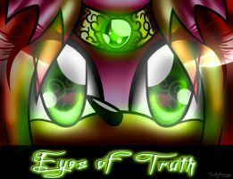Kathy's Story- Eyes of Truth .:cover:. by Kathy-the-echidna