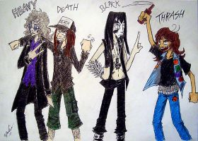 wery metal metal genres by the-ChooK