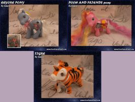 Pooh Ponies by lovelauraland