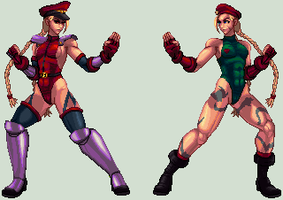 CAMMY KOF XII by xXASMODEOXx