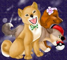 Stardust and Puppy Fashion by chizi