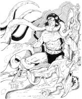 CONAN  Fighting for the girl by BROKENHILL