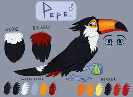 Pepe the toucan by xDorchester