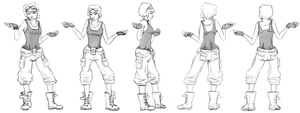 Character Concept Rotations by UnInfinitum