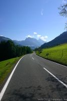 Road In Austria by miki3d