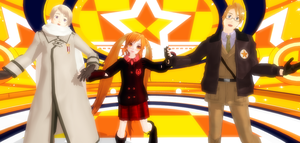 My Selfie With America And Russia by MMD-Ask-Russia2