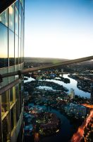 Gold Coast from Q1 Observatory Deck 2 by Wings-of-Light