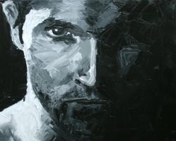 Derek in oil by ihni
