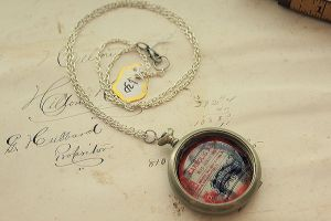 Carbolic Acid Pocket Watch by asunder